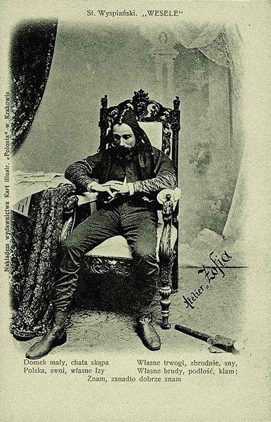 Wesele - Stańczyk - Błazen królewski