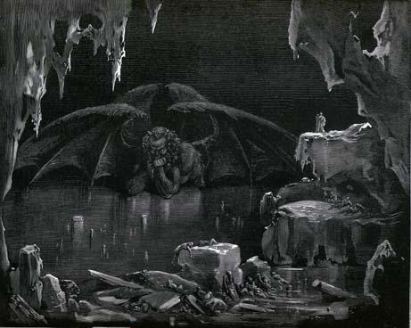 Boska Komedia - Fotografia 2 - Gustave Dore Inferno